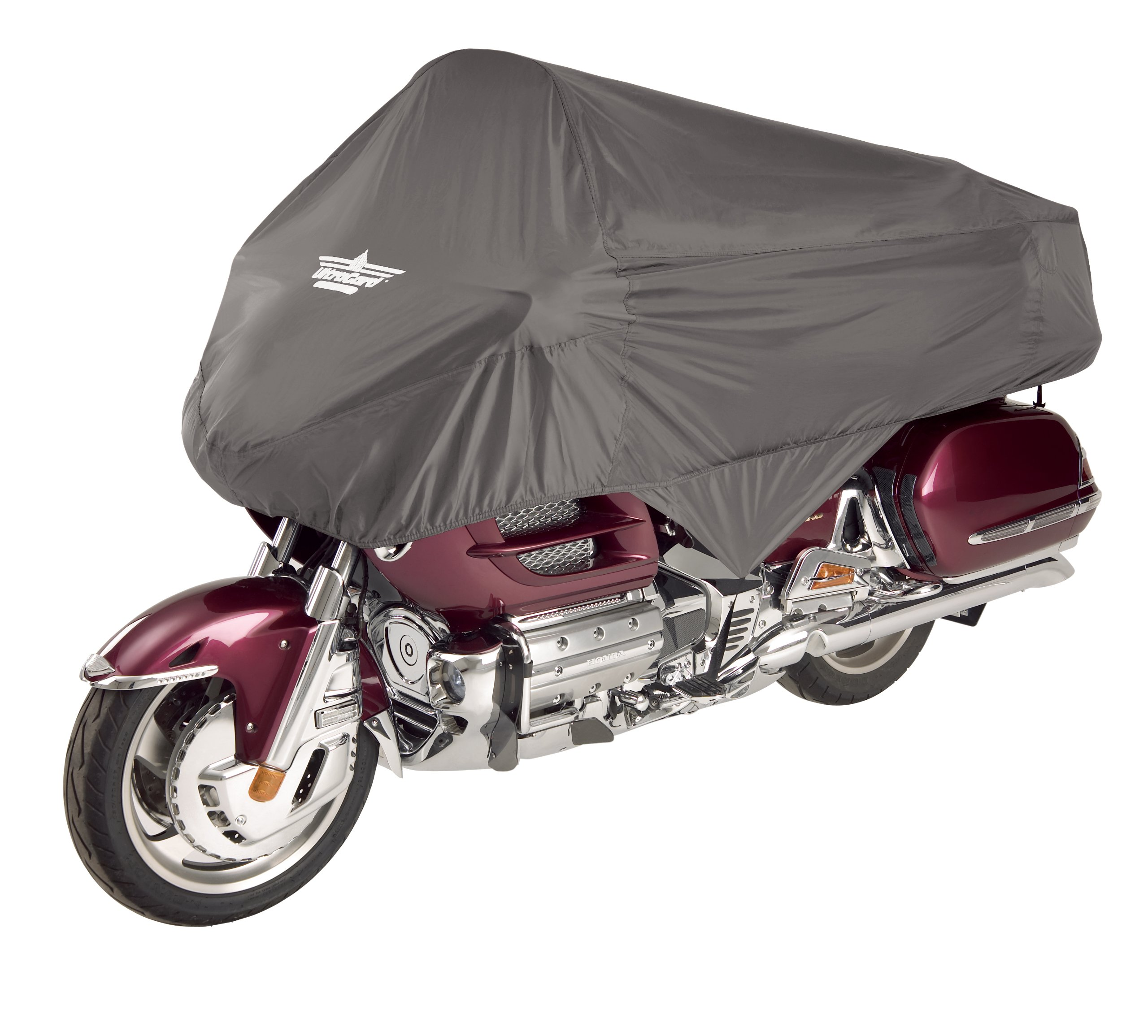 UltraGard 4-458G Charcoal Touring Motorcycle Half Cover by Ultragard (Image #1)