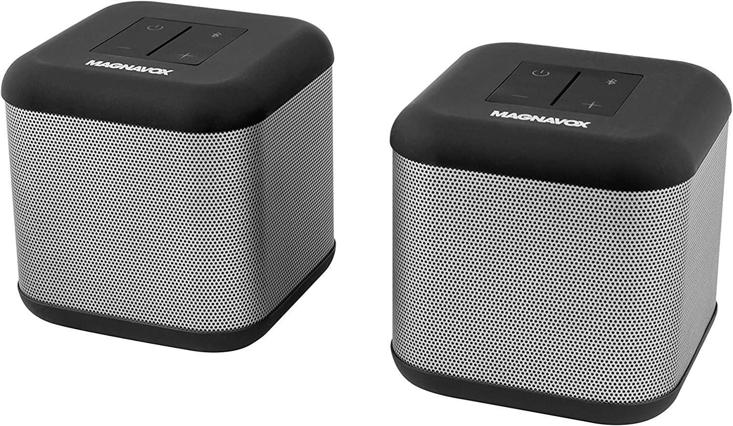 Magnavox - Stereo Speakers with Dual Mode Operations, DSP 360 Degree Sound Effect and Bluetooth Wireless Technology