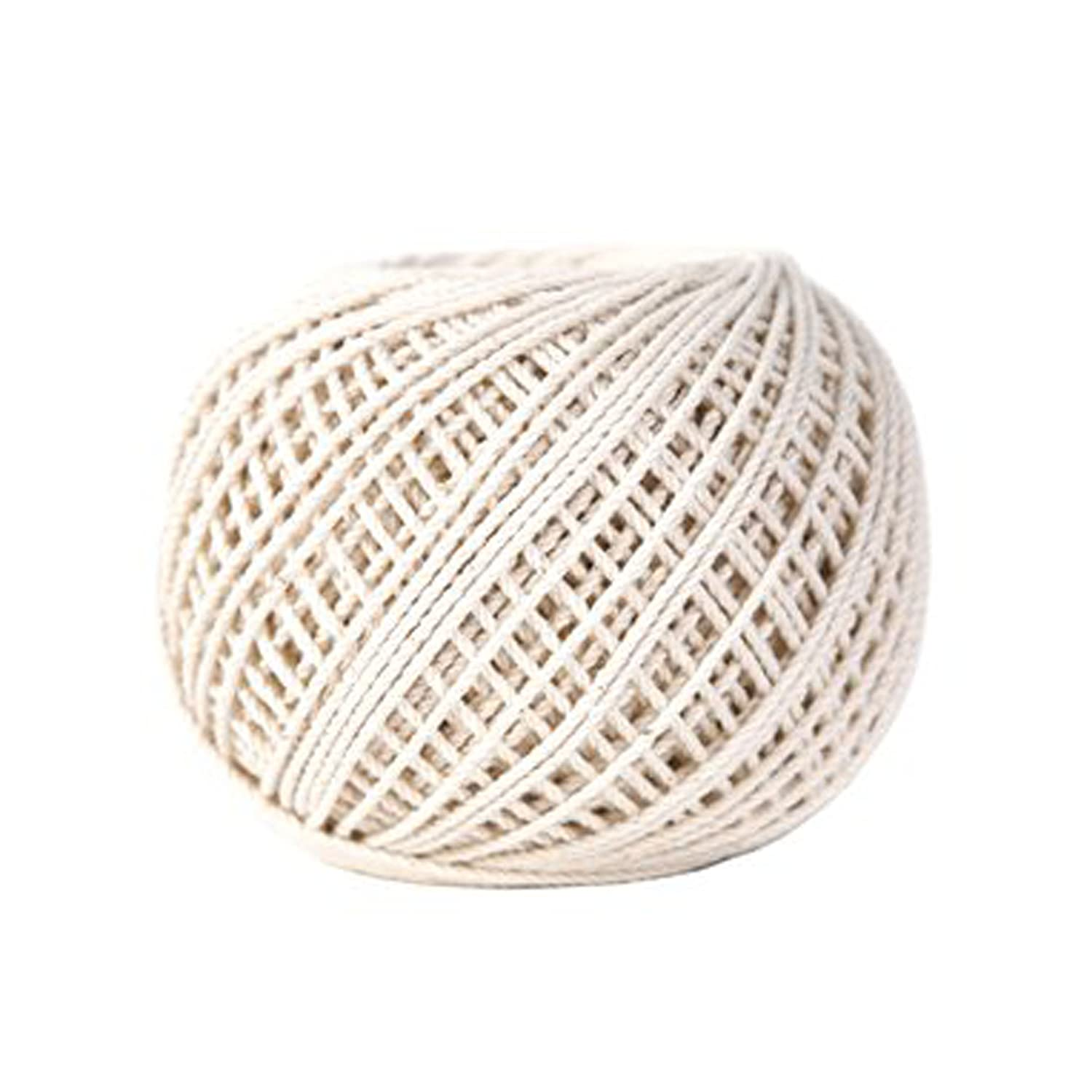 Koch Industries Twisted Cotton Cable Cord Ball 5422105 Natural 21 by 350 Feet