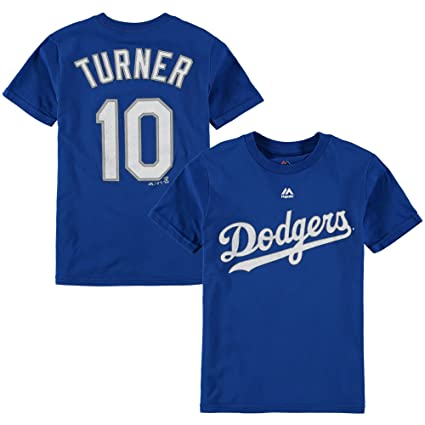 Amazon.com   Outerstuff Justin Turner Los Angeles Dodgers  10 Youth Player  T-Shirt   Sports   Outdoors 5e52ddb4fd4
