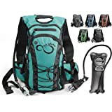 Live Infinitely Hydration Backpack 2L / 3L TPU Leak Proof Water Bladder- 600D Polyester -