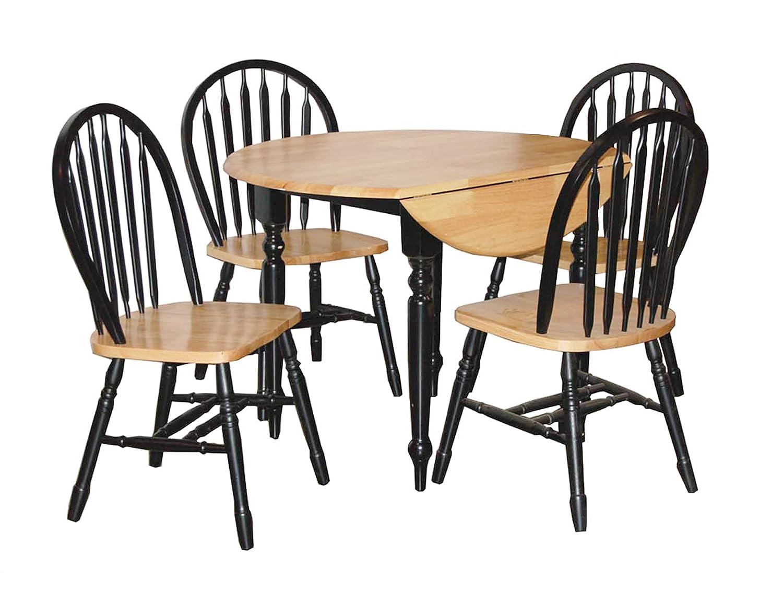 drop leaf dining set home design ideas and pictures. Black Bedroom Furniture Sets. Home Design Ideas