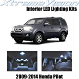 XtremeVision Honda Pilot 2009-2014 (16 Pieces) Cool White Premium Interior LED Kit Package + Installation Tool