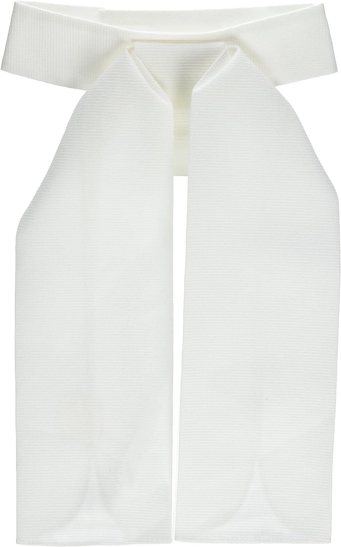 colore: Bianco da donna Pfiff 011000-01-1 Plastron con chiusura in velcro