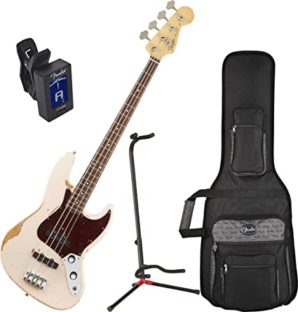 Amazon.com: Fender Pulga Signature guitarra roadworn carcasa ...