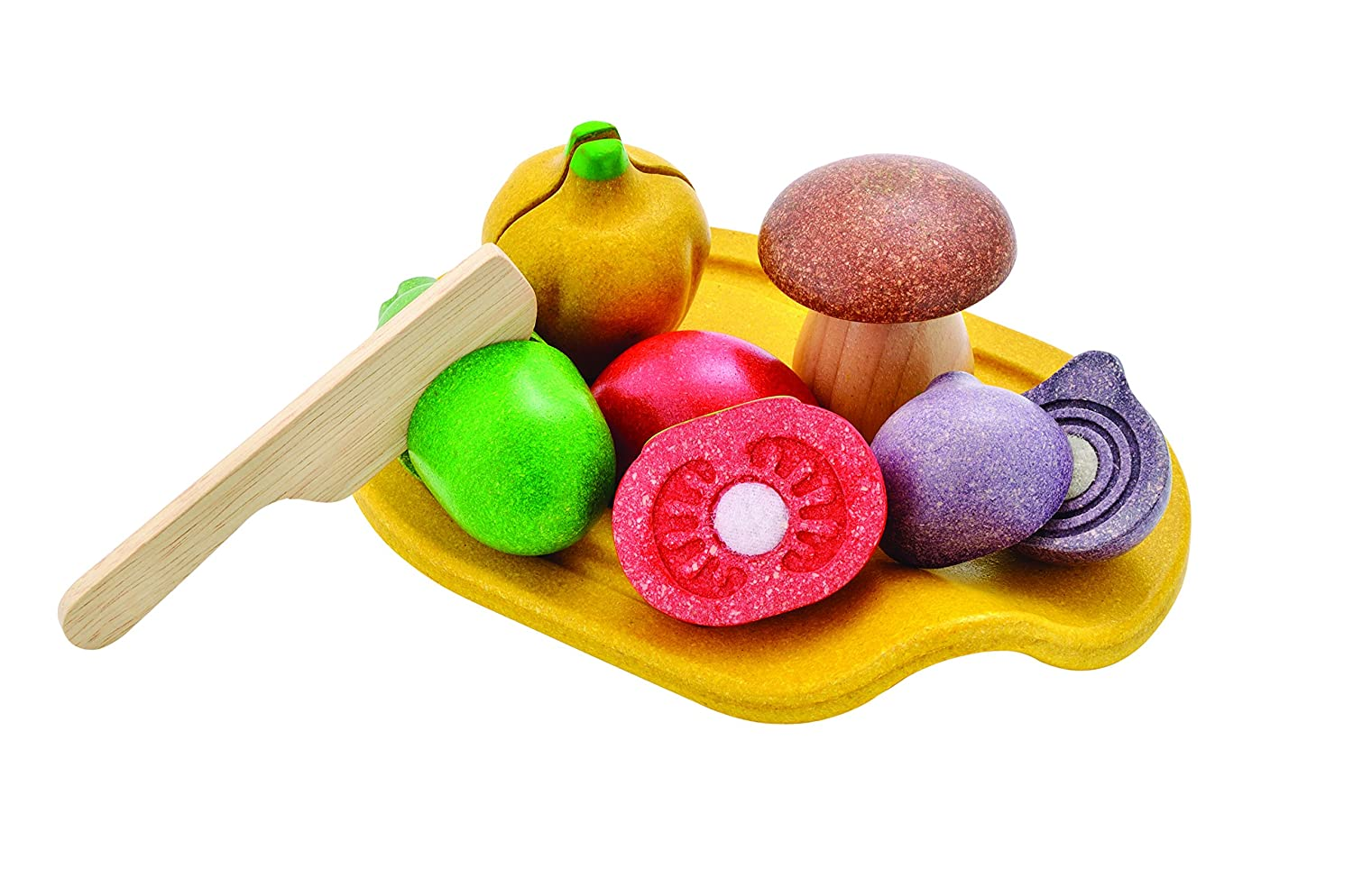 PlanToys Activity Assorted Vegetable Playset
