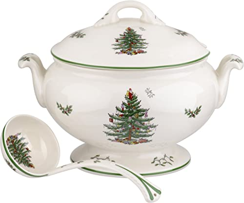 Spode Christmas Tree 75th Anniversary Footed Tureen