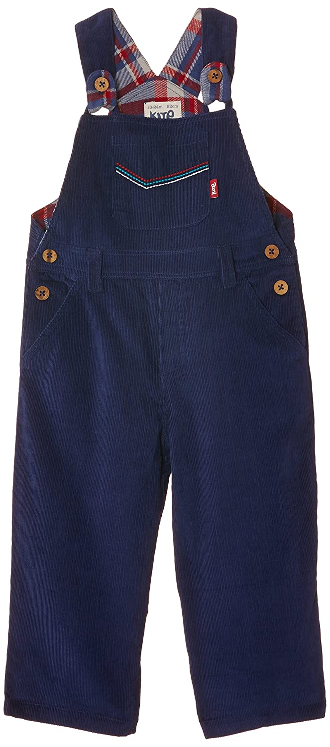 Kite Baby Boys Cord Dungarees Blue (Navy) 0-3 Months BB650/0-3 BB650/0-3-Navy_0-3 Months