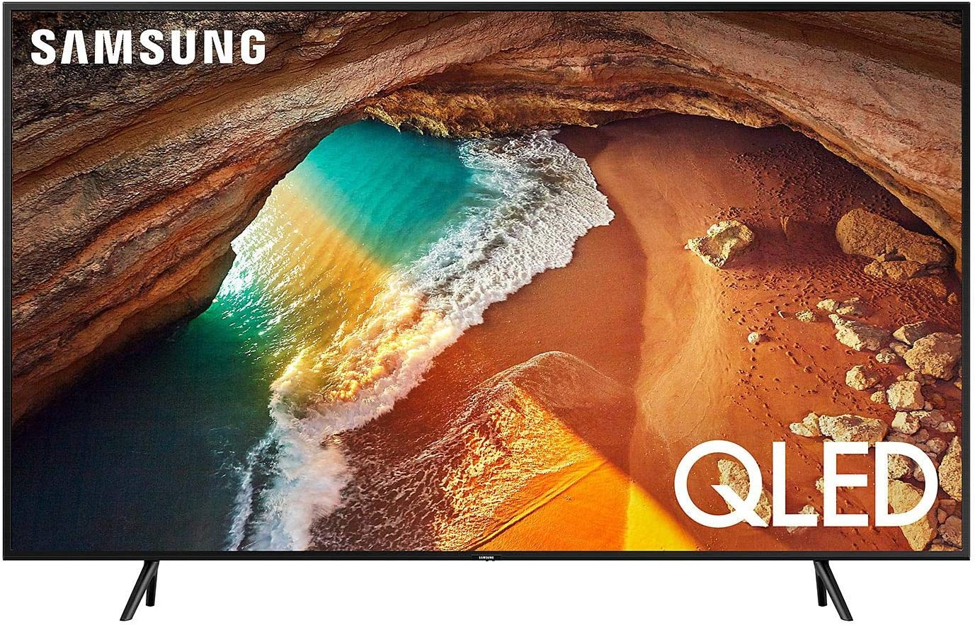 "Samsung Electronics QN65Q6DRAFXZA Flat 65"" 4K UHD 6 Series Smart TV"