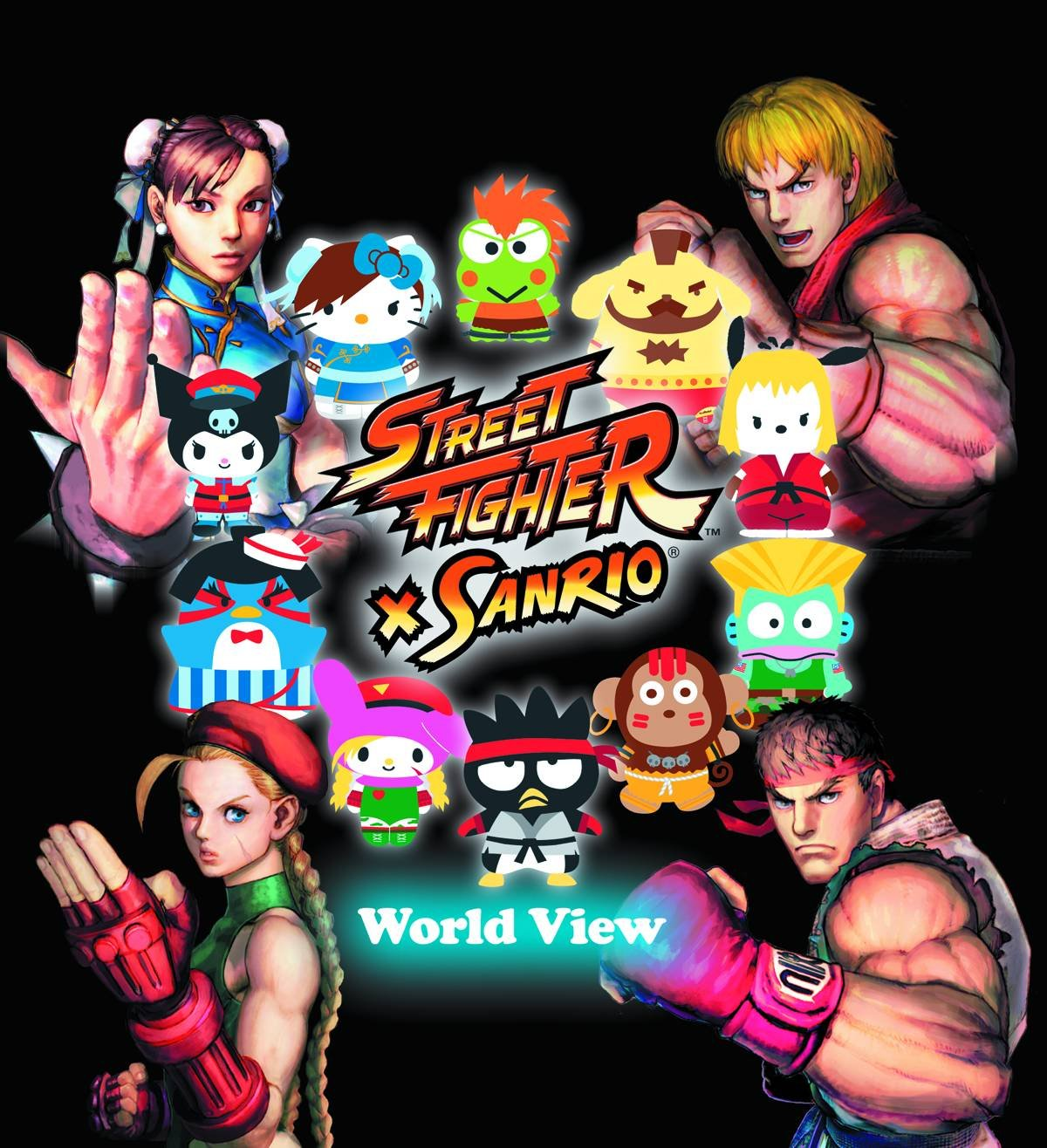 Street Fighter X Sanrio: World View PDF Text fb2 book