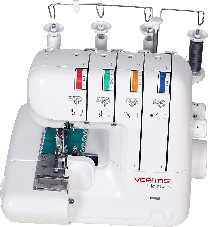 VERITAS 1052 Elastica Máquina de Coser de plástico y Metal, 32 x ...