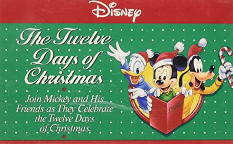 the twelve days of christmas disney - Disney 12 Days Of Christmas