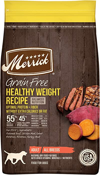 The Best Merrick Reduced Calorie Dog Food