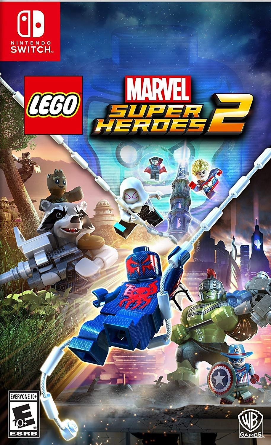 Amazon com: LEGO Marvel Superheroes 2 - Nintendo Switch: Whv