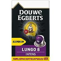 Douwe Egberts Koffiecups Lungo Intens Voordeelverpakking (200 Capsules, Geschikt voor Nespresso* Koffiemachines…