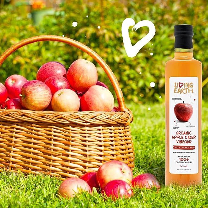 (Pack de 6 - Vinagre de manzana ecológico