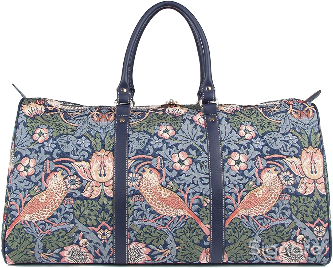 William Morris Strawberry Thief Carry-on Overnight Weekender Travel Bag