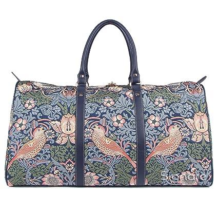 Bolsa de viaje grande de moda Signare para mujer en tela de tapiz bolsa de viaje