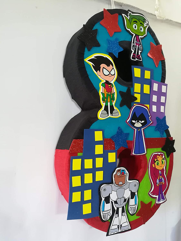 teen titans party supplie Teen Titans pinata teen titans go birthday party