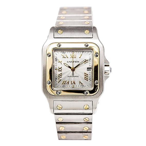 Cartier Santos Automatic-Self-Wind Mens Reloj w20058 C4 (Certificado) de Segunda Mano: Cartier: Amazon.es: Relojes
