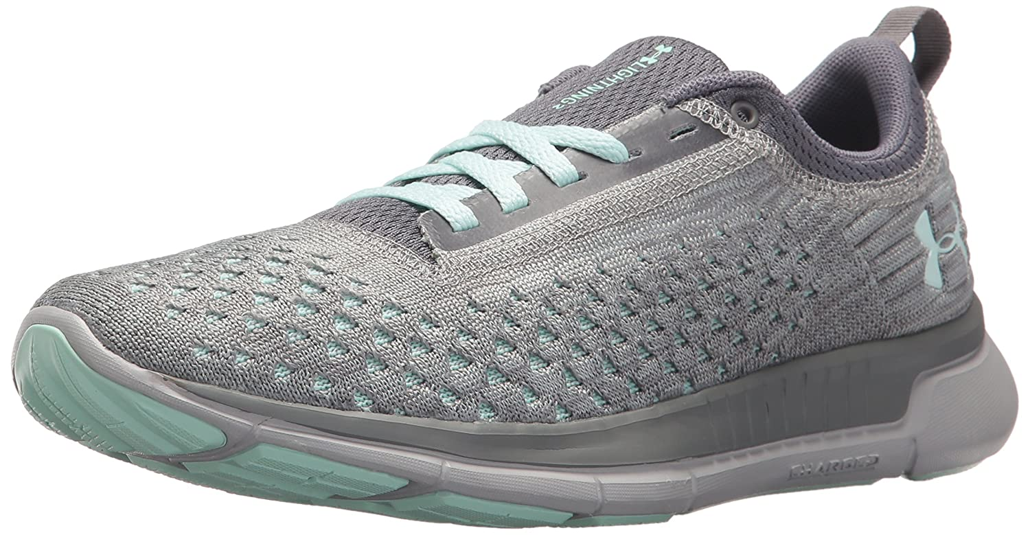 Under Armour Women's Lightning 2 Running Shoe B071RZJKC8 6 M US|Zinc Gray (102)/Overcast Gray