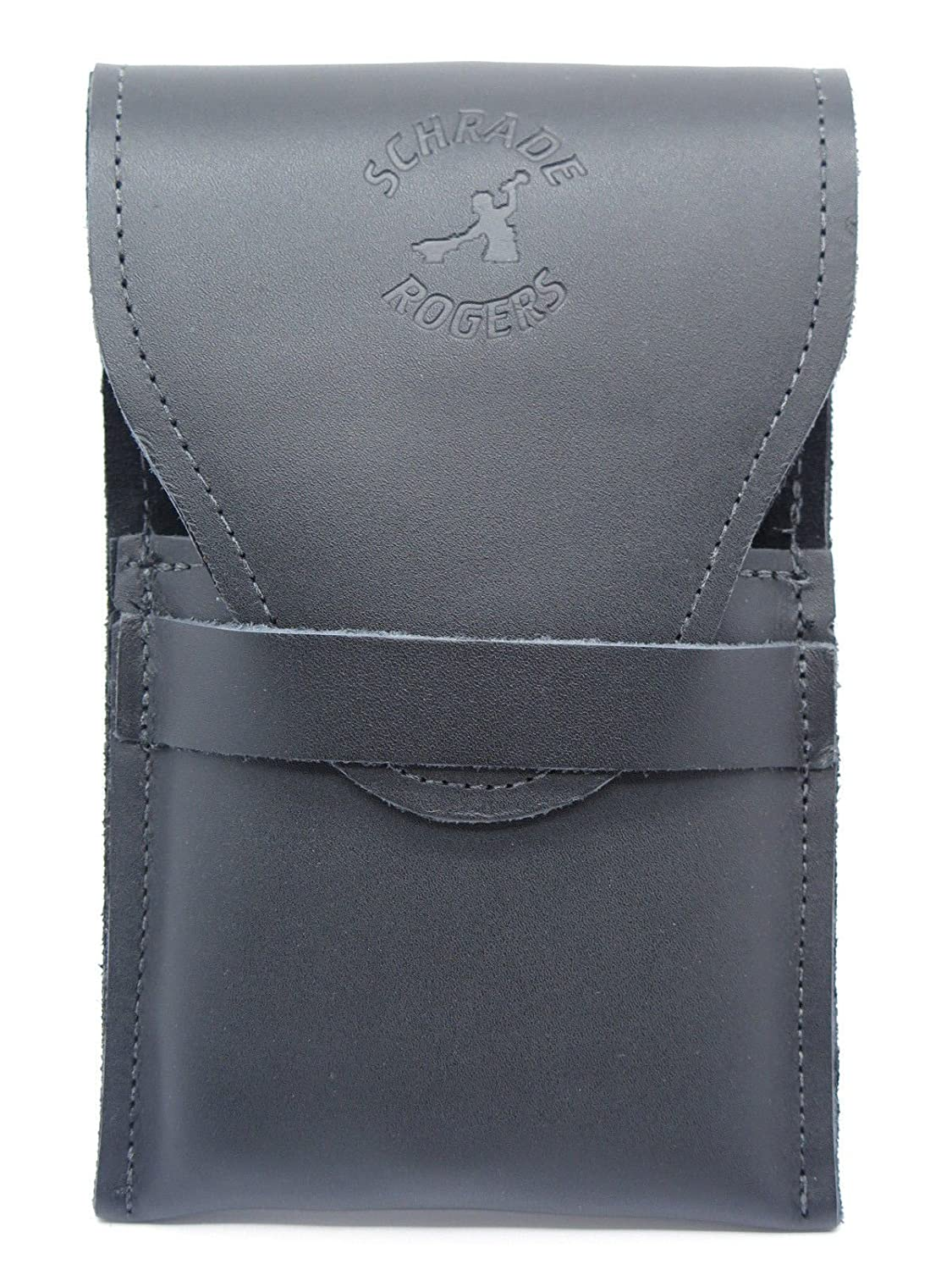 Schrade Rogers Leather Straight Razor Case Pouch Sheath Holster Protector