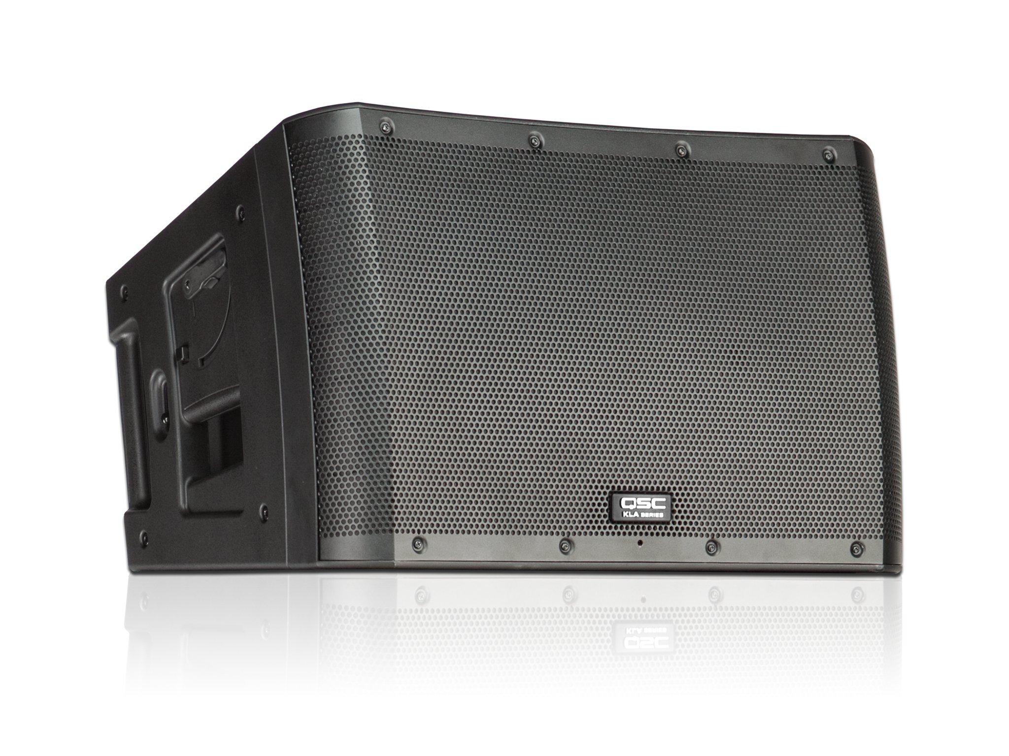 QSC KLA12 12'' 500-Watt 2-Way Powered Active Line Array Loudspeaker, Black by QSC
