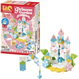 LaQ Sweet Collection PRINCESS GARDEN - 5 Models, 175 Pieces | STEM Construction Building Set for Girls | Made in Japan…