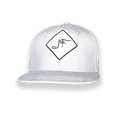 788de1a1c4b Image Unavailable. Image not available for. Color  JF Jay Faire Jay Faire  Signature Logo Hat White New Snapback Baseball Cap Men Women