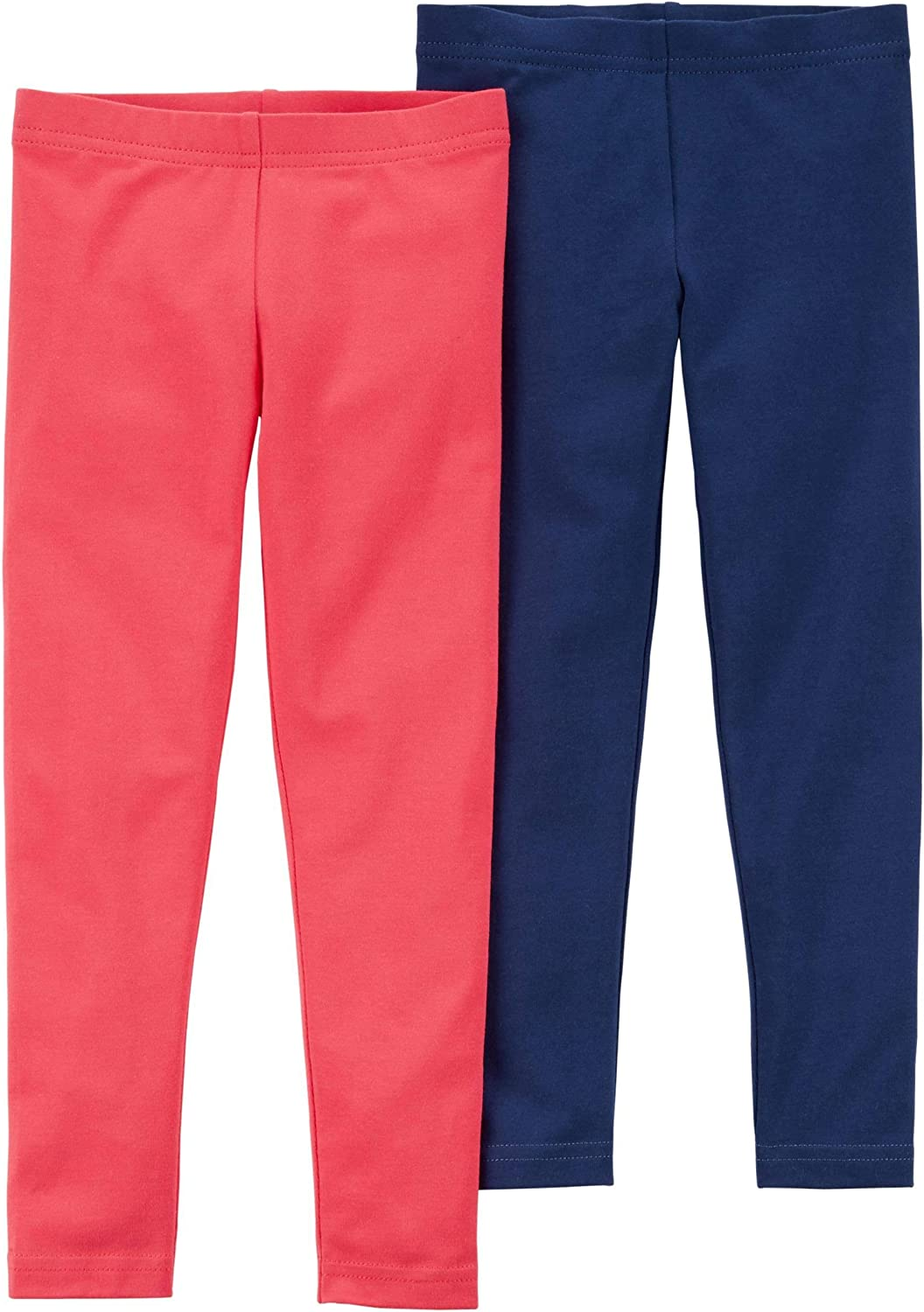 2 Pack Cotton Leggings Kids Carters Girls Baby Toddler