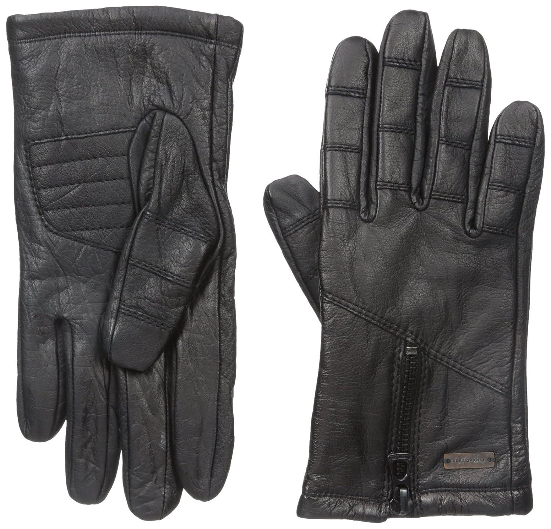 Boss Orange Men's Grigor Leather Glove Black Small 50297852