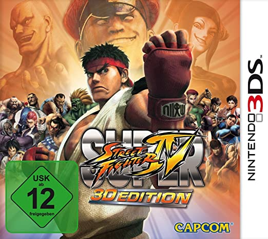 Nintendo Super Street Fighter IV - Juego (Nintendo DS, Lucha, T ...