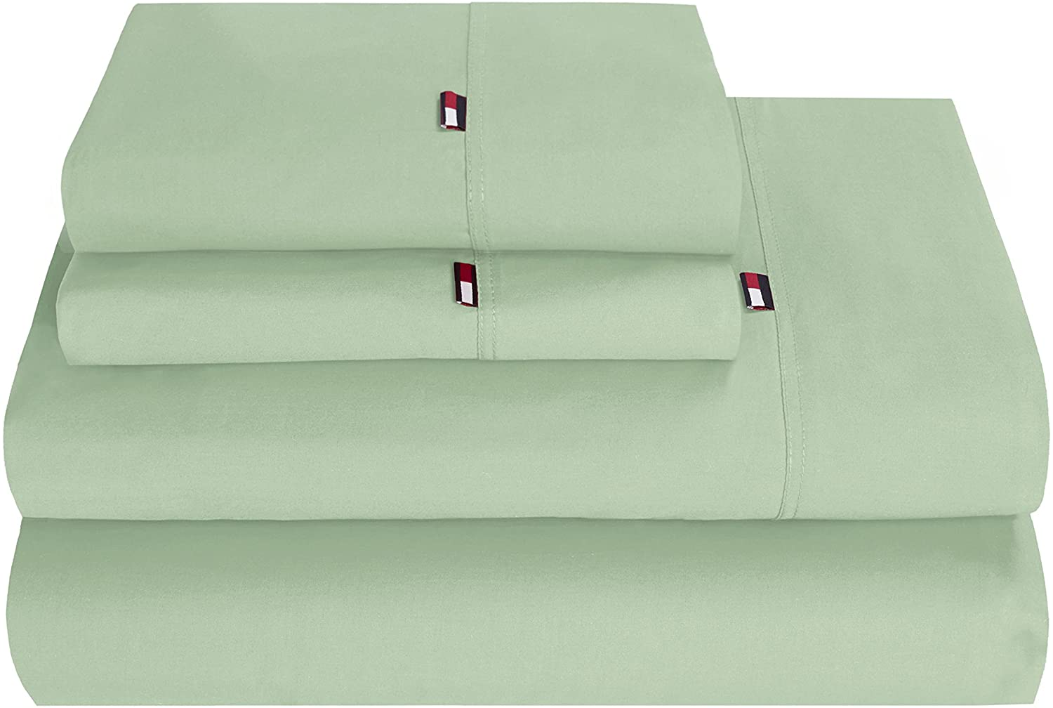 Tommy Hilfiger TH Signature Seagrass T Sheet Set Twin
