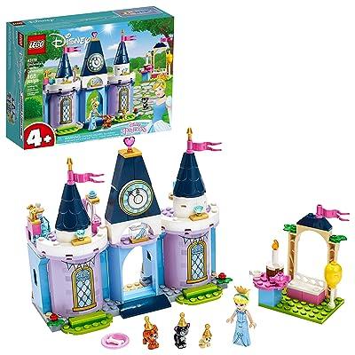 LEGO Disney Cinderella's Castle Celebration 43178 Creative Building Kit, New 2020 (168 Pieces): Toys & Games