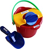 Spielstabil Bucket Mill 3 Piece Set - Includes Bucket, Sand Scoop and Spinning Wheel (Made in Germany)