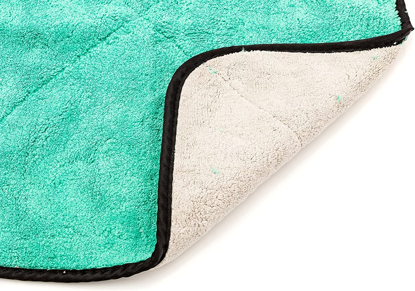 Cleaning Towel for Fine Automobile Surfaces Car Windows Use Wet//Dry- 2 Interiors Dry Rite Heavy Weight Premium Plush 14 x 14 Microfiber Cloth- Ultra Thick- 700 GSM- Polishing Detailing Glass