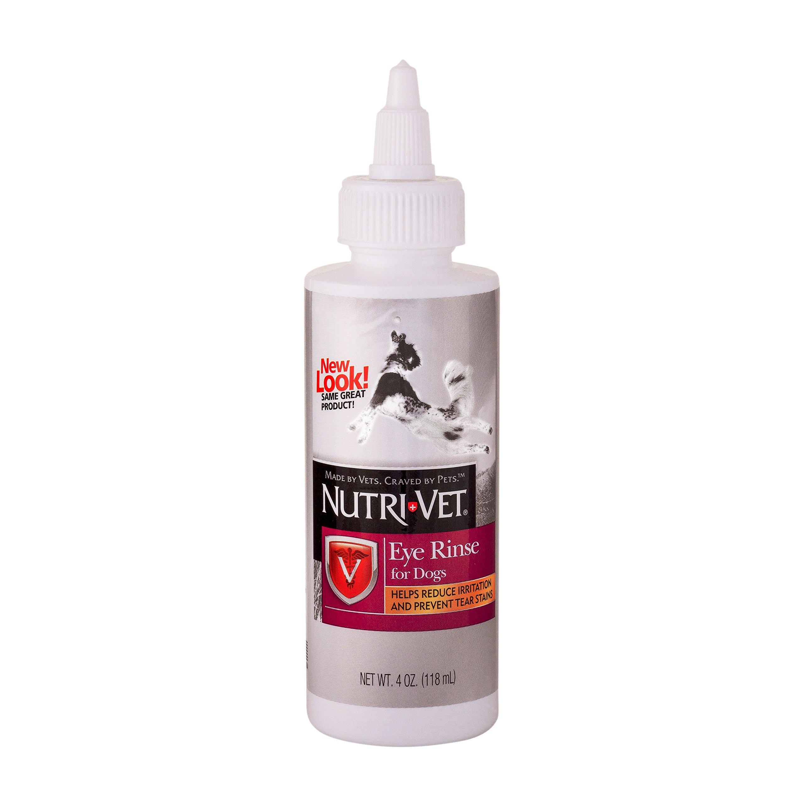 Nutri-Vet Dog Eye Rinse 4-oz bottle