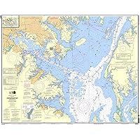 NOAA Chart 12278: Chesapeake Bay Approaches to Baltimore Harbor