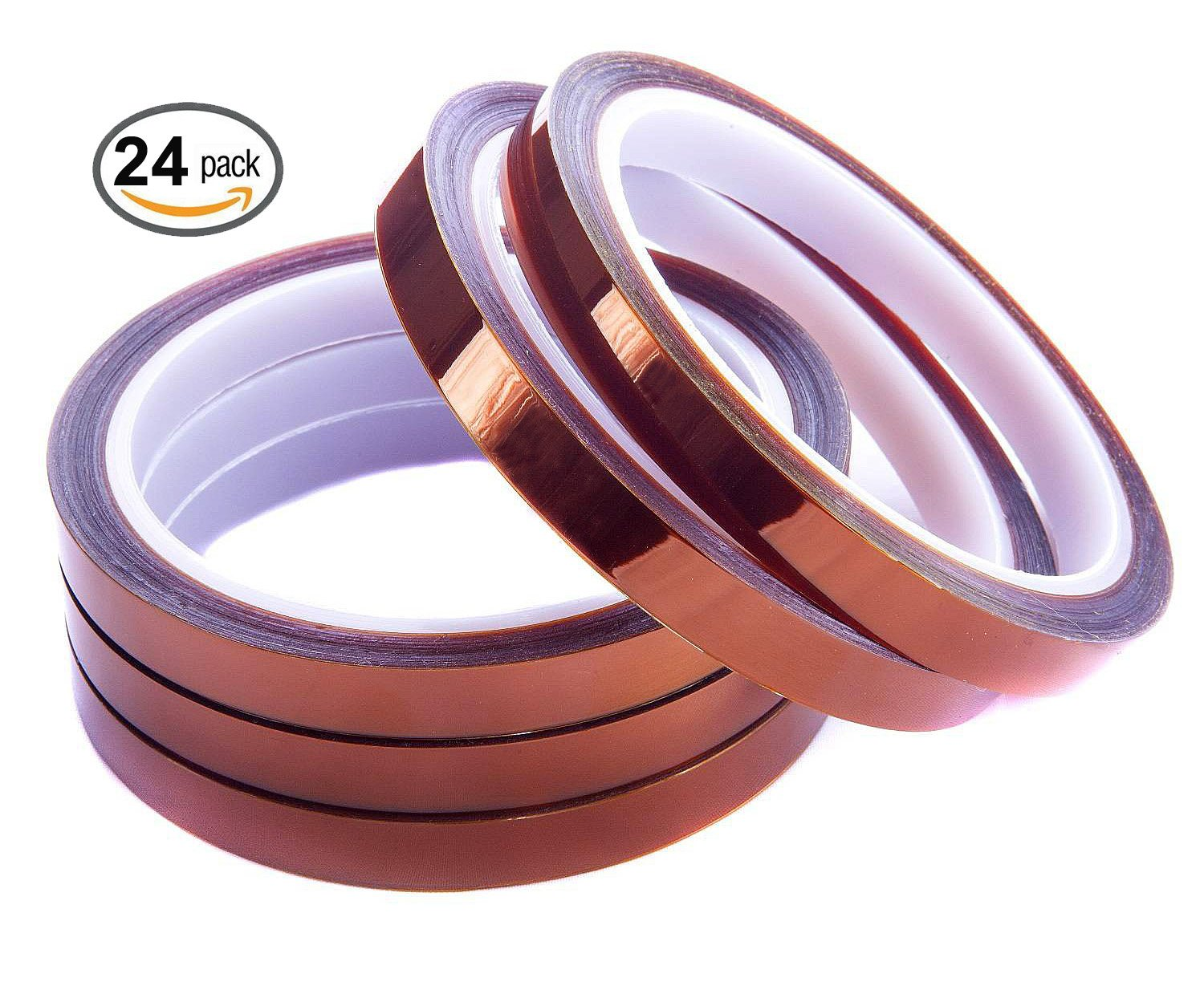 Merco Polyimide Film Tape 1/2'' x 36 yds - use for Kapton