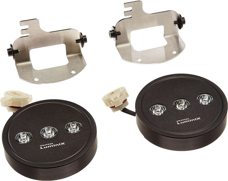 Putco 12002 Luminix High Power LED Fog Lamps with H16 Harness 1 Pair
