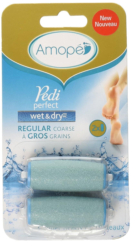 Amope Pedi Perfect Electronic Foot File Wet Dry Regular Coarse Refills, 2 Count Reckitt Benckiser Healthcare 514009514000