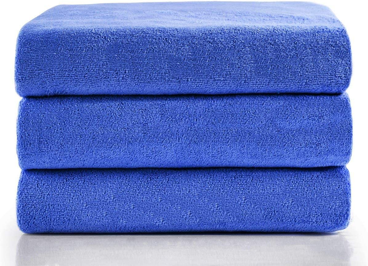 3 Size Towels at the Price of 1 Super Pack Best For Gym Travel Camp Backpacking Yoga Fitnes Fast Quick Dry /· Super Absorbent /· Ultra Compact /· Lightweight /· Antimicrobial /· Set Microfiber Towels