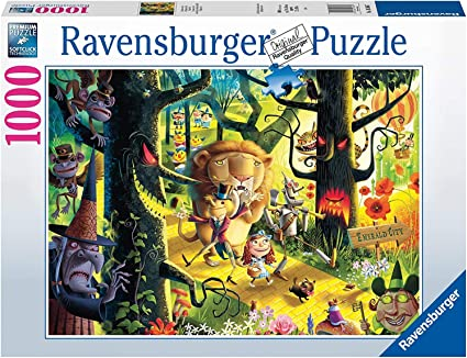 and Bears Oh My 1000 Piece Jigsaw Puzzle FREE SHIPPING NEW BRAND Lions Tigers