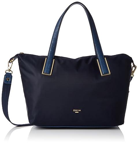 Dindy Nylon Tote Shoulder Bag in Black - Black Dune London LaY5nu