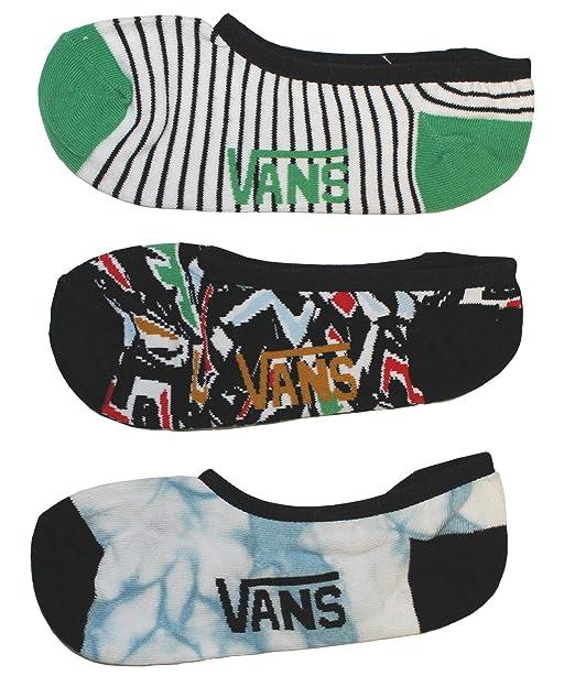 Vans Calcetines Safari Pack Canoodle negro/verde/blanco talla: 31, 5 al 38 EU I 1-6 USA I 13.5-5 UK: Amazon.es: Ropa y accesorios