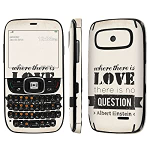 [ZTE Altair 2 Z432] Skin [NakedShield] Scratch Guard Vinyl Skin Decal [Full Body Edge] [Matching WallPaper] - [Where There is Love] for AT&T GoPhone ZTE Z432 [Altair 2]