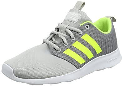 adidas CF Swift Racer, Chaussures de Gymnastique Homme, Gris (Grey Two F17/Solar Yellow/FTWR White), 40 2/3 EU