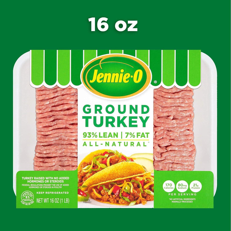 Jennie O Lean Ground Turkey 16 Ounce 1 Pound Amazon Com