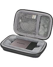 co2CREA Duro Viajar Caso Cubrir para Samsung T3 T5 Disco SSD Capacidad 250GB 500GB 1TB 2TB