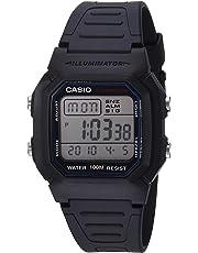 Casio Men's W800H-1AV Classic Sport Watch with Black Band